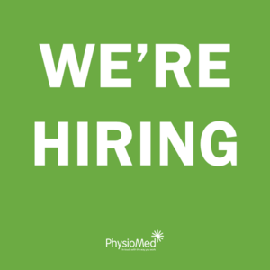 We're Hiring - Physiotherapists