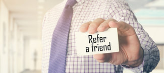 Refer a Friend and we'll give you £10.00 off your next treatment